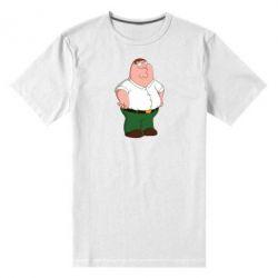 Мужская стрейчевая футболка Питер Гриффин - FatLine