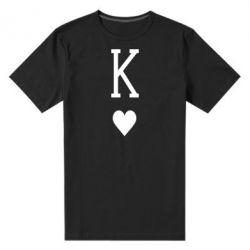 Чоловіча стрейчева футболка Playing Cards King