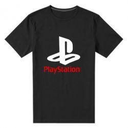 Мужская стрейчевая футболка PlayStation - FatLine