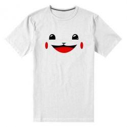 Мужская стрейчевая футболка Pokemon Smile - FatLine