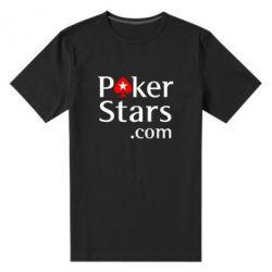 Мужская стрейчевая футболка Poker Stars - FatLine