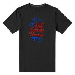 Мужская стрейчевая футболка Pole Dancing Princess - FatLine