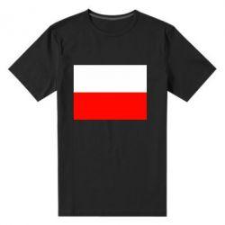 Мужская стрейчевая футболка Польша - FatLine
