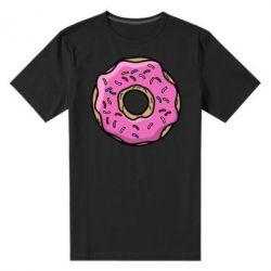 Мужская стрейчевая футболка Пончик Гомера
