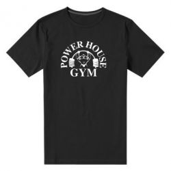 Мужская стрейчевая футболка Power House Gym - FatLine