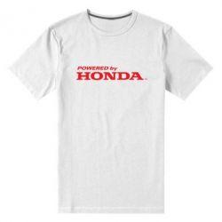 Мужская стрейчевая футболка Powered by HONDA - FatLine