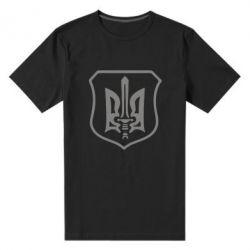 Мужская стрейчевая футболка Правий сектор - FatLine