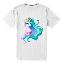 Чоловіча стрейчова футболка Принцеса Селеста - FatLine