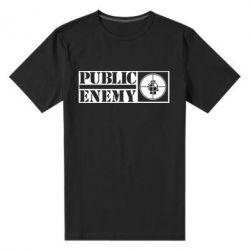 Мужская стрейчевая футболка Public Enemy - FatLine
