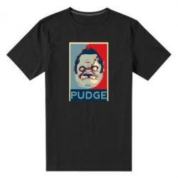 Мужская стрейчевая футболка Pudge aka Obey - FatLine