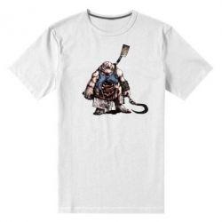 Мужская стрейчевая футболка Pudge Art - FatLine