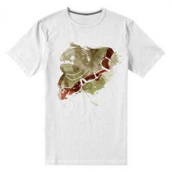 Мужская стрейчевая футболка Pudge Dota 2
