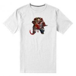 Мужская стрейчевая футболка Pudge Dota 2 - FatLine