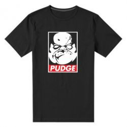 Мужская стрейчевая футболка Pudge Obey - FatLine