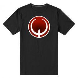 Мужская стрейчевая футболка Quake Logo - FatLine