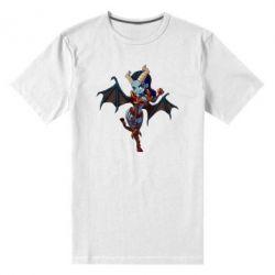 Мужская стрейчевая футболка Queen of Pain - FatLine