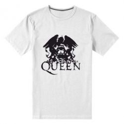 Мужская стрейчевая футболка Queen - FatLine