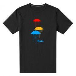 Мужская стрейчевая футболка Rain - FatLine