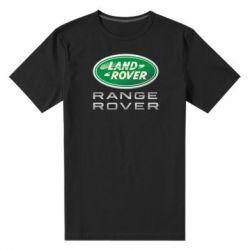 Мужская стрейчевая футболка Range Rover Logo Metalic - FatLine