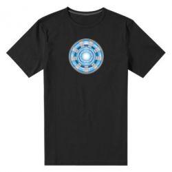 Мужская стрейчевая футболка Реактор Тони Старка - FatLine