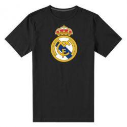 Мужская стрейчевая футболка Real Madrid - FatLine