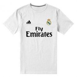 Мужская стрейчевая футболка Реал - FatLine