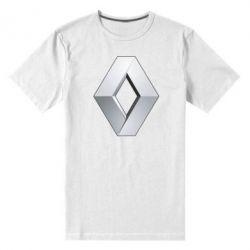 Мужская стрейчевая футболка Renault Logo - FatLine