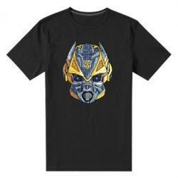 Чоловіча стрейчева футболка Робот bumblebee