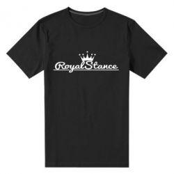 Мужская стрейчевая футболка Royal Stance
