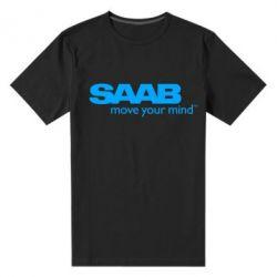 Мужская стрейчевая футболка SAAB - FatLine