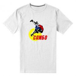 Мужская стрейчевая футболка Sambo - FatLine