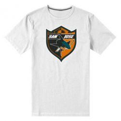 Мужская стрейчевая футболка San Jose Sharks - FatLine