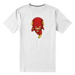 Мужская стрейчевая футболка Сartoon Flash - FatLine