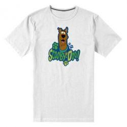 Мужская стрейчевая футболка Scooby Doo! - FatLine