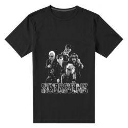 Мужская стрейчевая футболка Scorpions 2016 - FatLine