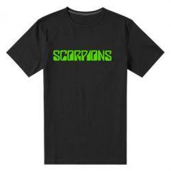 Мужская стрейчевая футболка Scorpions - FatLine