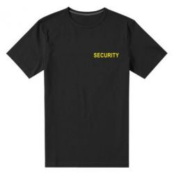 Мужская стрейчевая футболка Security