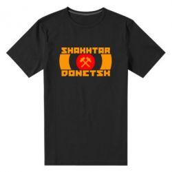 Мужская стрейчевая футболка Shakhtar Donetsk - FatLine
