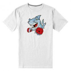 Мужская стрейчевая футболка Shark MMA - FatLine