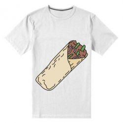 Мужская стрейчевая футболка Шаурма