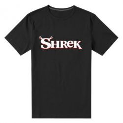 Мужская стрейчевая футболка Shrek - FatLine