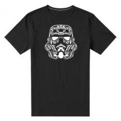 Мужская стрейчевая футболка Штурмовик Арт - FatLine