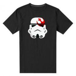 Мужская стрейчевая футболка Штурмовик - FatLine