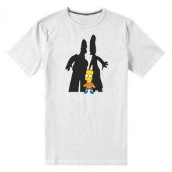 Мужская стрейчевая футболка Simpsons - FatLine