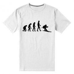Мужская стрейчевая футболка Ski evolution
