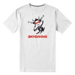 Мужская стрейчевая футболка Skidiving - FatLine