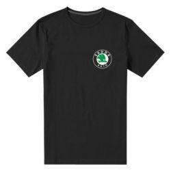 Мужская стрейчевая футболка Skoda Small - FatLine