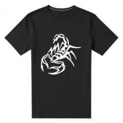 Мужская стрейчевая футболка скорпион 2 - FatLine