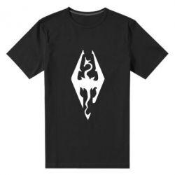 Мужская стрейчевая футболка Skyrim - FatLine