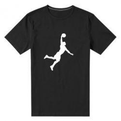 Мужская стрейчевая футболка Slam dunk - FatLine